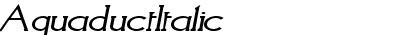 AquaductItalic