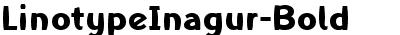 LinotypeInagur-Bold