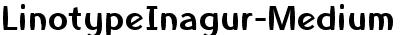 LinotypeInagur-Medium