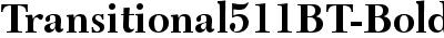 Transitional511BT-Bold