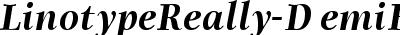LinotypeReally-DemiBoldIt...