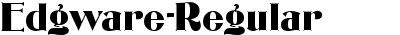 Edgware-Regular