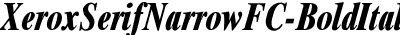 XeroxSerifNarrowFC-BoldIt...