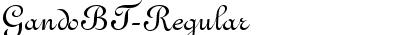 GandoBT-Regular
