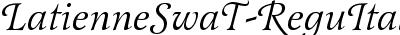 LatienneSwaT Italic