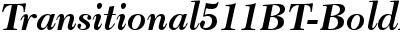 Transitional511BT-BoldIta...
