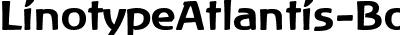 LinotypeAtlantis-Bold