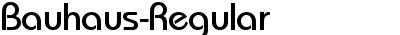 Bauhaus-Regular