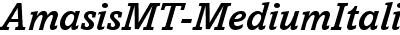AmasisMT-MediumItalic