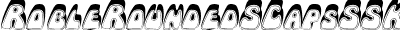 RobleRoundedSCapsSSK Italic