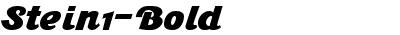 Stein1-Bold