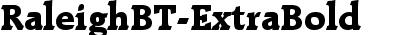RaleighBT-ExtraBold