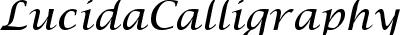 LucidaCalligraphy-Italic