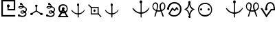 futurama alien alphabet o...